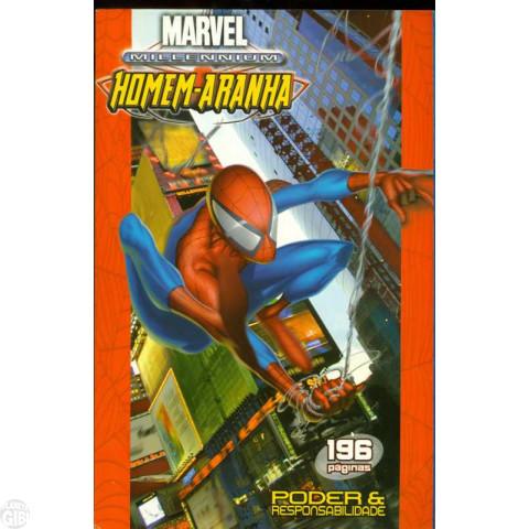 Marvel Millennium Homem-Aranha [Panini - Encadernado] nº 001 jul/2004 - Poder e Responsabilidade