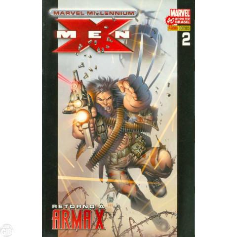 Marvel Millennium X-Men [Panini - 1ª série] nº 002 ago/2007 - Retorno à Arma X