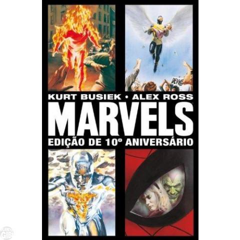 Marvels [Panini - 2ª edição]  abr/2010 - Edição de 10º Aniversário - Capa Dura