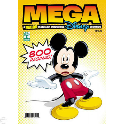 Mega Disney nº 001 mai/2012 - O Maior Gibi Disney do Mundo - Casty