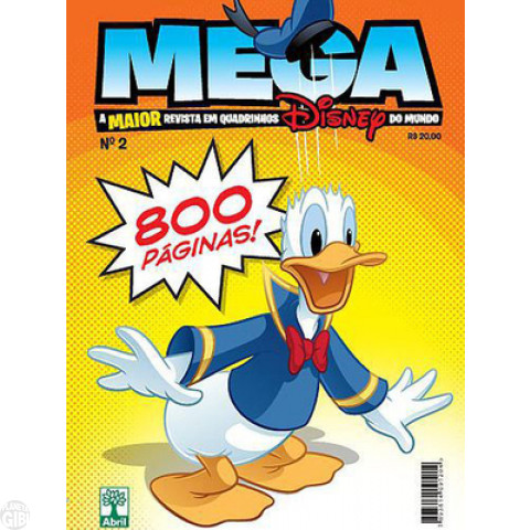 Mega Disney nº 002 mar/2013 - O Maior Gibi Disney do Mundo - Casty