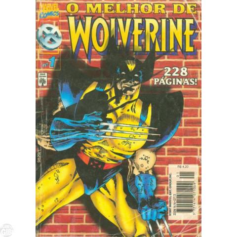 Melhor de Wolverine [Abril]  fev/1997 - Vide Detalhes