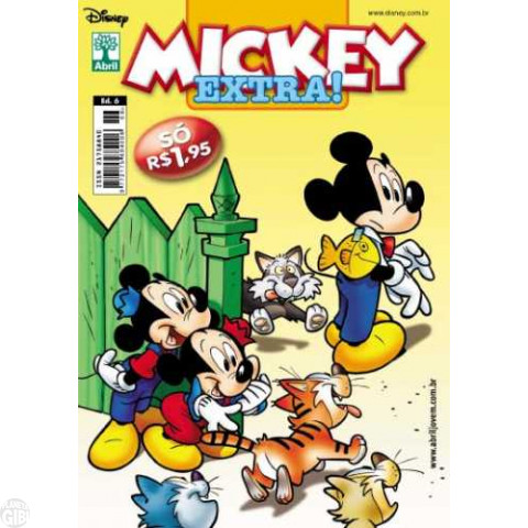 Mickey Extra! nº 006 out/2011