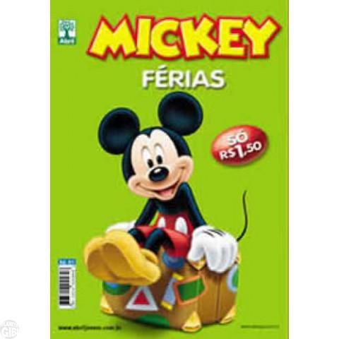 Mickey Férias nº 001 dez/2008