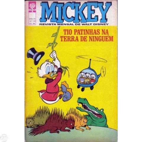 Mickey nº 159 jan/1966 - Vide detalhes