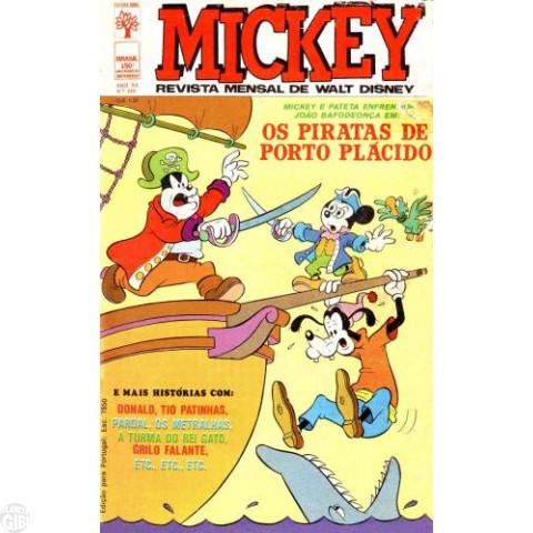 Mickey nº 239 set/1972 - Vide detalhes