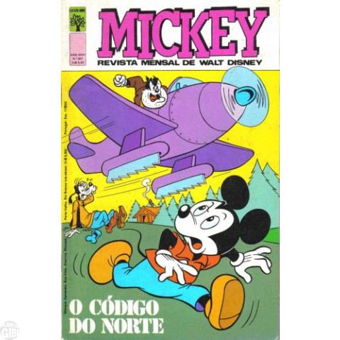 Mickey nº 287 set/1976