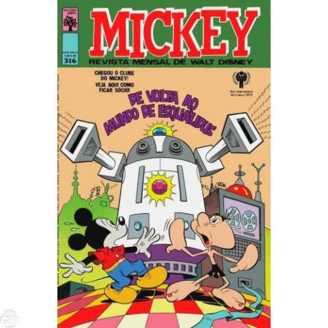 Mickey nº 316 fev/1979