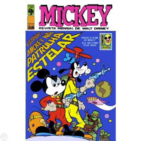 Mickey nº 318 abr/1979
