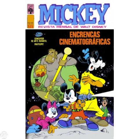 Mickey nº 321 jul/1979 - Vide detalhes