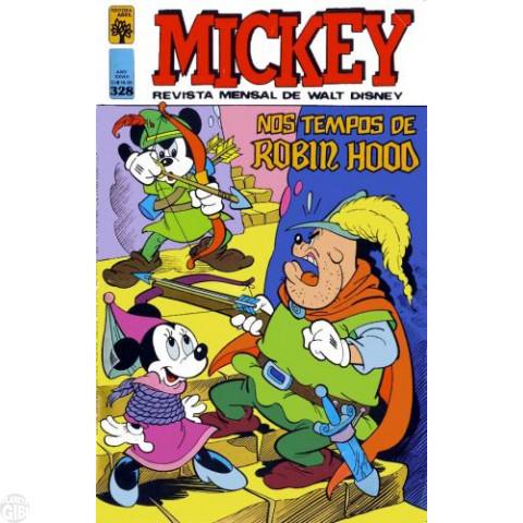 Mickey nº 328 fev/1980 - Última Edição em Formato Pato