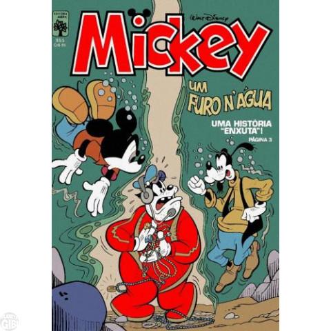 Mickey nº 355 mai/1982
