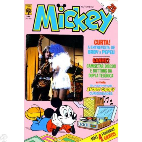 Mickey nº 386 dez/1984 - Vide Detalhes