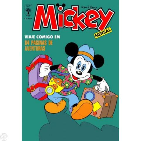 Mickey nº 460 jan/1988 - Primeira Edição com Lombada Quadrada - Vide Detalhes