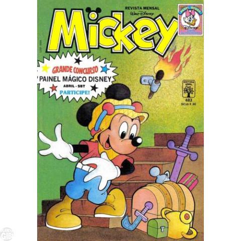 Mickey nº 483 dez/1989