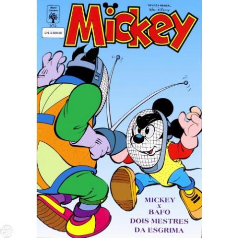 Mickey nº 515 ago/1992