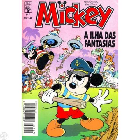 Mickey nº 547 jun/1995