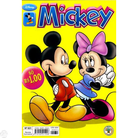 Mickey nº 631 out/2000
