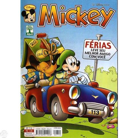 Mickey nº 712 dez/2003