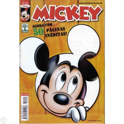 Mickey nº 755 ago/2005 - Primeira Edição da Nova Fase Mensal