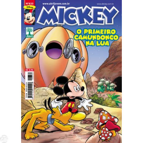 Mickey nº 832 jan/2012