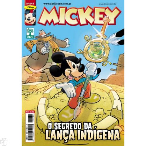 Mickey nº 844 jan/2013