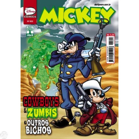 Mickey nº 855 nov/2013