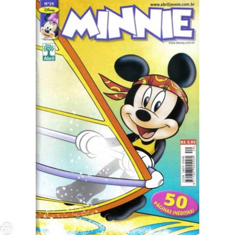 Minnie [1ª série] nº 029 dez/2006 - Uma Estranha Tempestade - Última Edição