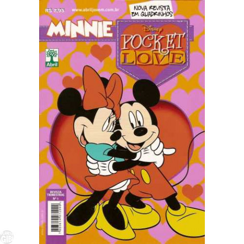 Minnie Pocket Love nº 001 out/2010