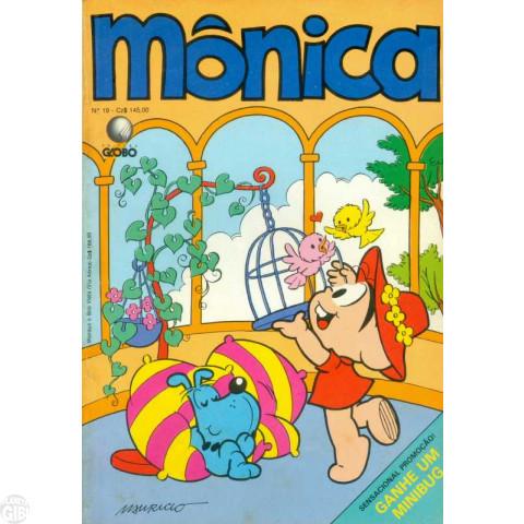 Mônica [2ª série - Globo] nº 019 jul/1988