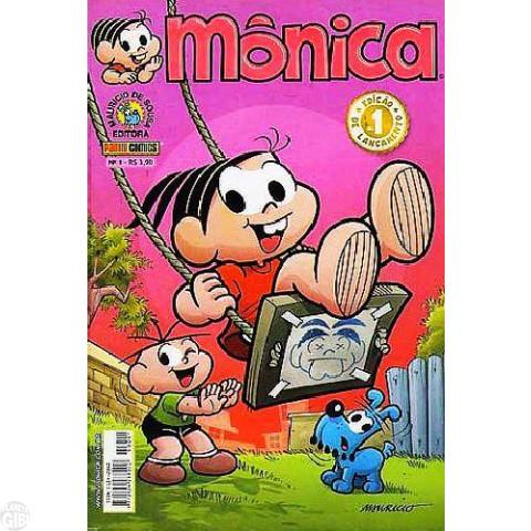 Mônica [3ª Série - Panini] nº 001 jan/2007