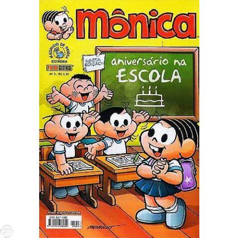Mônica [3ª série - Panini] nº 003 mar/2007