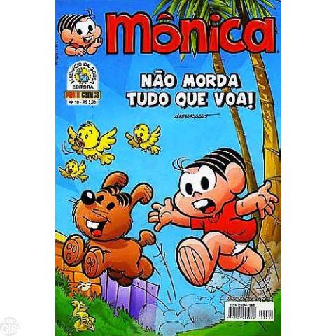 Mônica [3ª série - Panini] nº 010 out/2007 - Lacre de banca