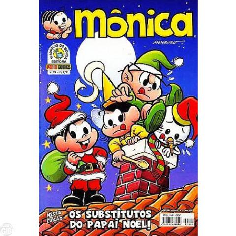 Mônica [3ª série - Panini] nº 024 dez/2008 - Edição de Natal