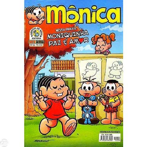 Mônica [3s - Panini] nº 026 fev/2009