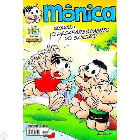 Mônica [3ª série - Panini] nº 044 ago/2010