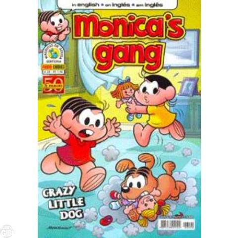Monica's Gang nº 020 jul/2011 - Revista em Inglês - Crazy Little Dog
