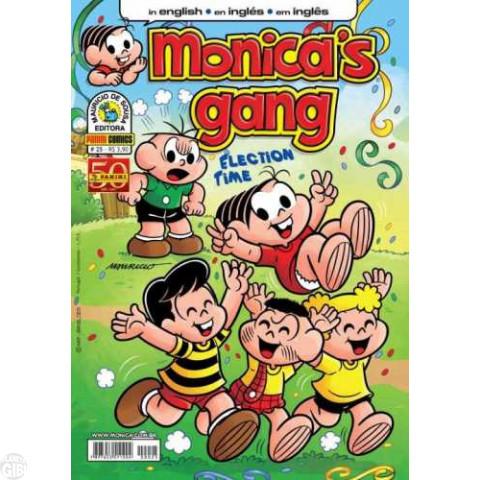Monica's Gang nº 025 dez/2011 - Revista em Inglês - Election Time