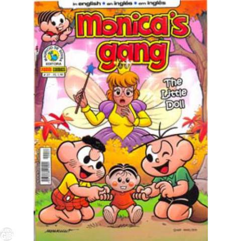 Monica's Gang nº 027 fev/2012 - Revista em Inglês - The Little Doll