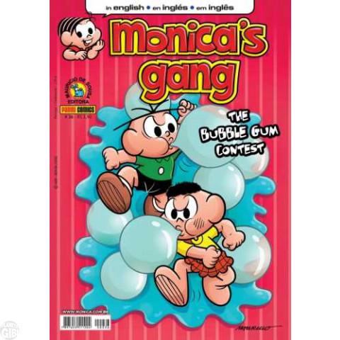 Monica's Gang nº 036 nov/2012 - Revista em Inglês - The Bubble Gum Contest