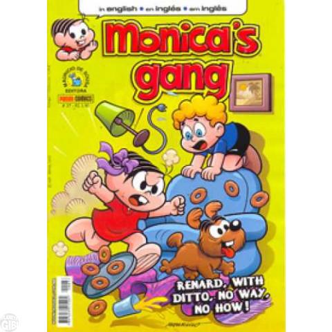 Monica's Gang nº 037 dez/2012 - Revista em Inglês - A Cat's Curiosity