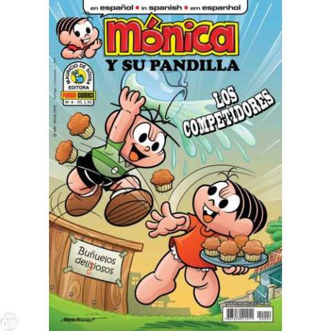 Mónica y Su Pandilla nº 004 mar/2010 - Revista em Espanhol - Capa com verniz