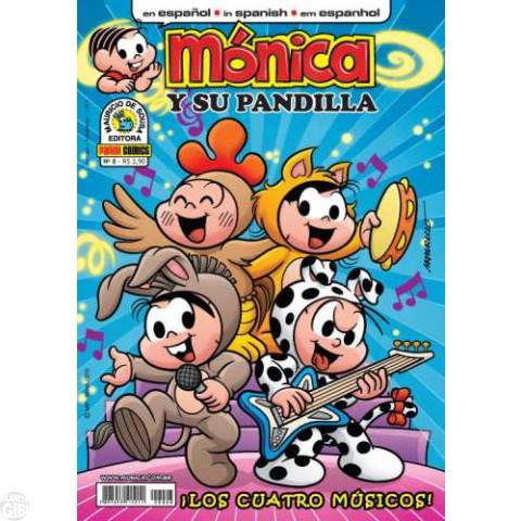 Mónica y Su Pandilla nº 008 jul/2010 - Revista em Espanhol