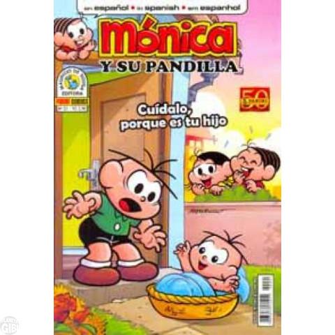 Mónica y Su Pandilla nº 021 ago/2011 - Revista em Espanhol