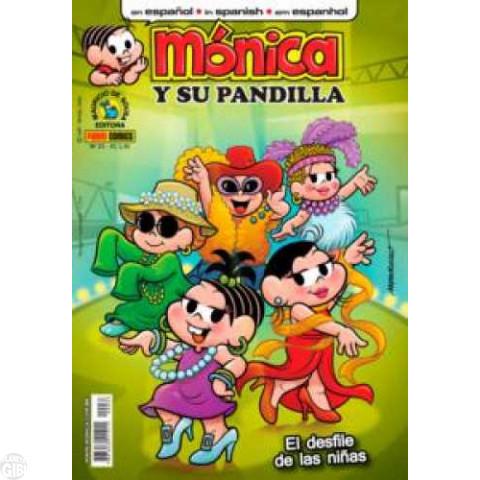 Mónica y Su Pandilla nº 033 ago/2012 - Revista em Espanhol
