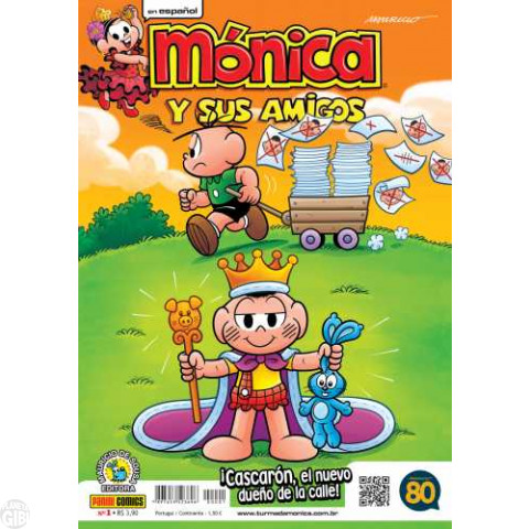 Mónica y Sus Amigos nº 001 mai/2015 - Revista em Espanhol