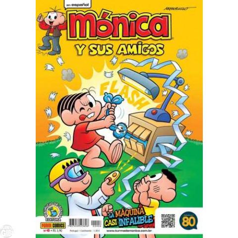 Mónica y Sus Amigos nº 006 out/2015 - Revista em Espanhol