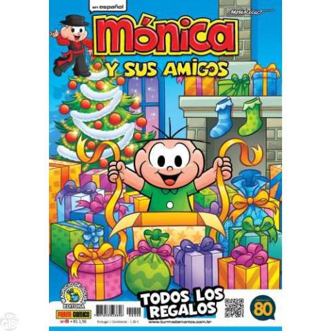 Mónica y Sus Amigos nº 008 dez/2015 - Revista em Espanhol
