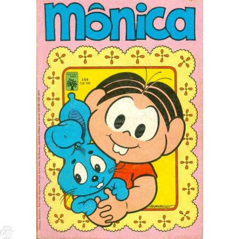 Mônica [1ª série - Abril] nº 154 fev/1983 - Os Dentinhos da Mônica