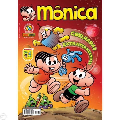 Mônica [3ª série - Panini] nº 031 jul/2009